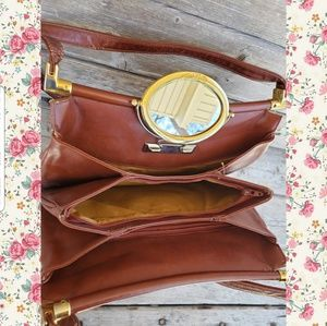 Vintage Lou Taylor shoulder bag from early 70s